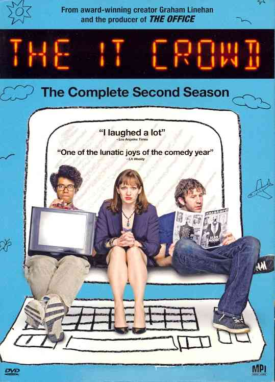 IT CROWD:COMPLETE SECOND SEASON BY IT CROWD (DVD)