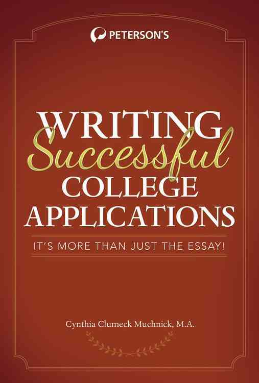 Writing Successful College Applications By Muchnick, Cynthia
